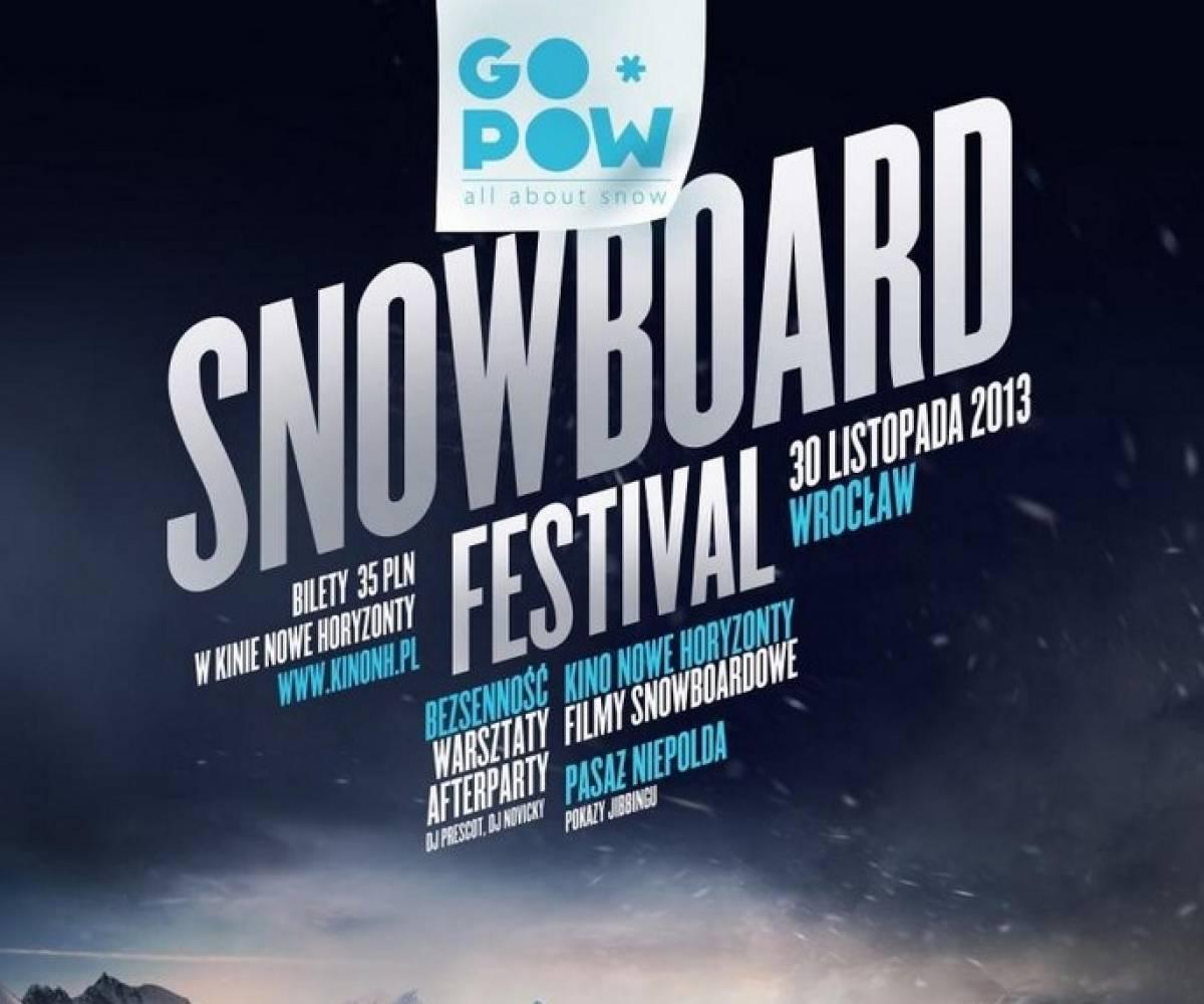 Go*Pow Snowboard Festival