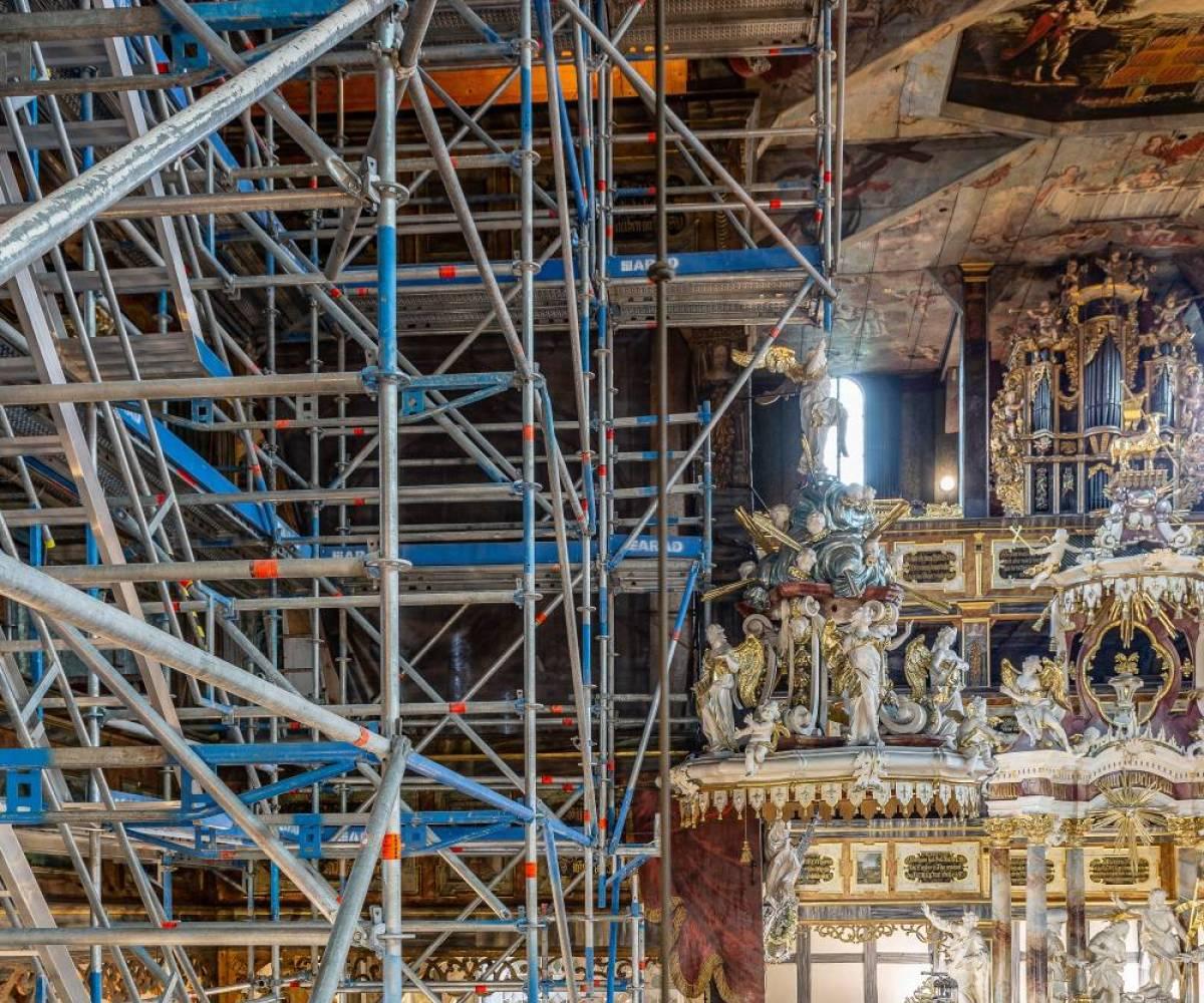Remont, renowacja - Kościół Pokoju w Świdnicy