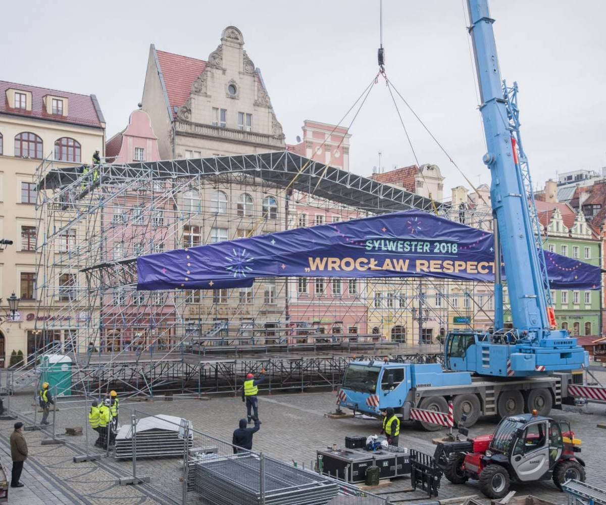 Sylwester Wrocław 2018/2019