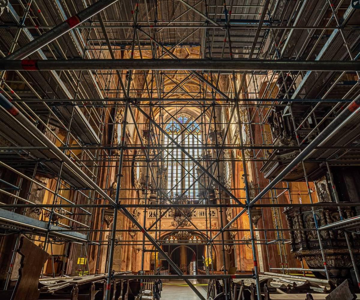 Renowacja - Katedra św. Stanisława i św. Wacława w Świdnicy